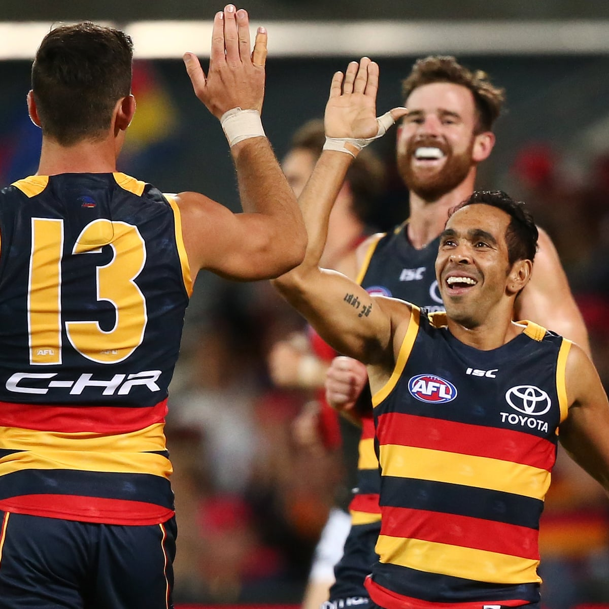 Crows Fly To Flag Favouritism After Big Win Over Essendon Afl The Guardian