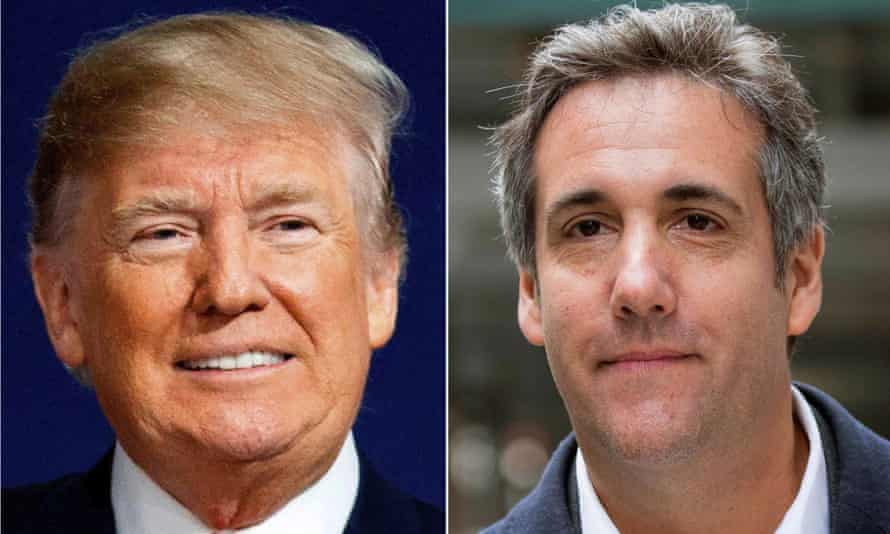 Donald Trump and his former attorney, Michael Cohen