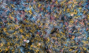 China's shared bike graveyards in 20 cities by Wu Guoyong exhibiting at the Lianzhou Foto Festival