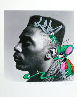 """""""I chose the photo for the fact that Big Daddy Kane was my shit back in the 80s,"""" says Robert Provenzano, aka Ces, a pioneer of the 'wildstyle' of graffiti writing. """"I got to see him perform several times back then. I started writing in 1983 when I was 13 years old but I had been drawing since I was 5, and I'm still going. The first wall I painted in 1983 was an abandoned building not far from where I grew up. I have been hooked since that night."""""""