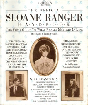 The Official Sloane Ranger Handbook by Peter York and Ann Barr, from 1982.