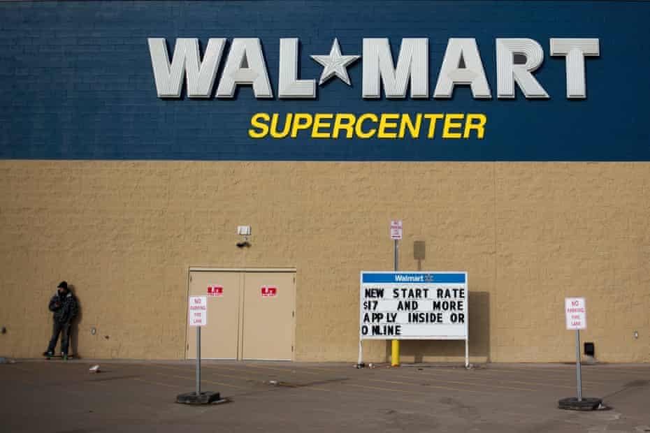 The Walmart store in Williston, North Dakota.