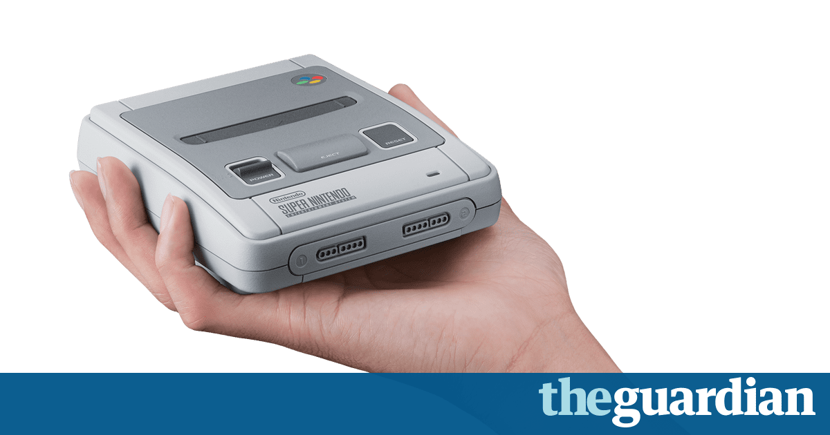 Nintendo announces the Mini SNES