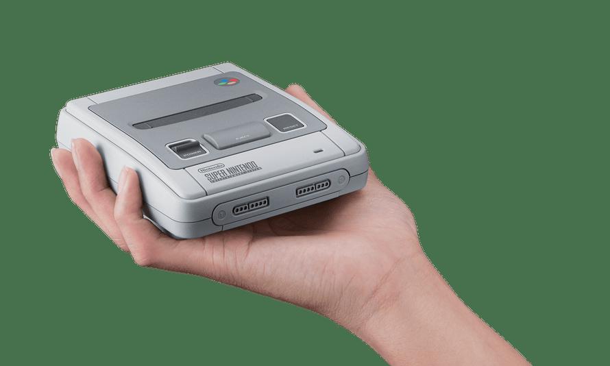 Nintendo Classic Mini SNES.