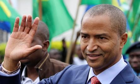 Moise Katumbi, former governor of Congo's Katanga province