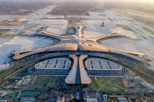 Beijing Daxing international airport.