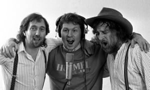 Chas Hodges, Clive Allen and David Peacock