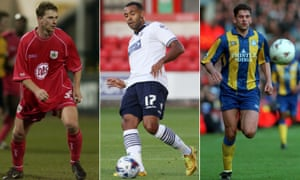 Mark Robins in action for the Robins, Liam Trotter turns out for the Trotters and David White represents the Whites.