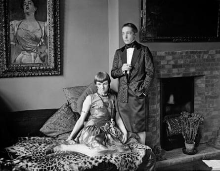 Radclyffe Hall with Lady Una Trowbridge in 1927.