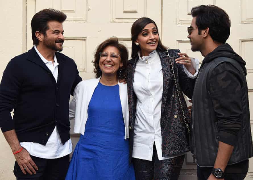 Anil Kapoor, Sonam Kapoor and Rajkummar Rao on the promotional trail for their new film.