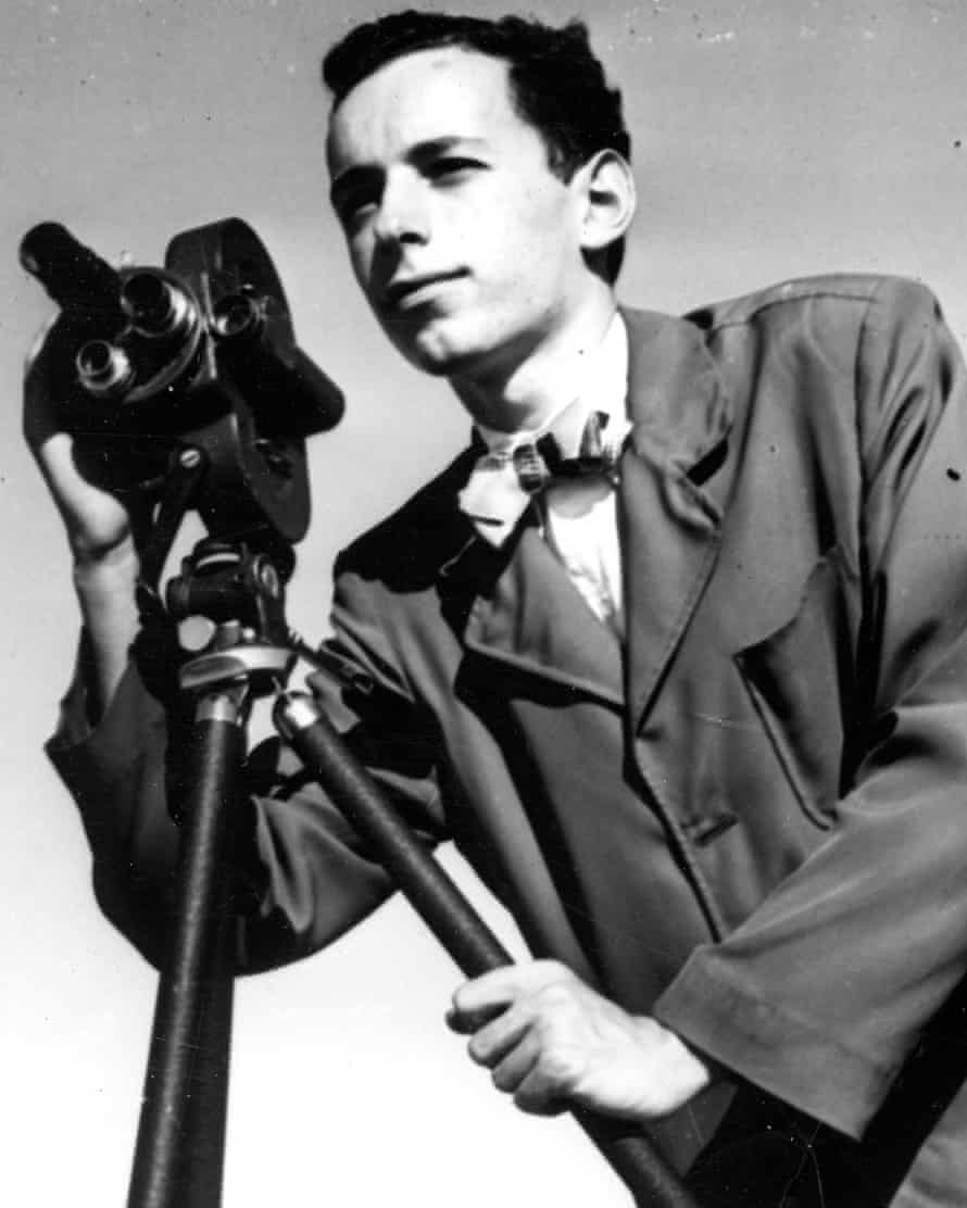 Susan Faludi's father as a young professional photographer, just after the second world war.