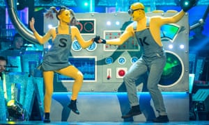 Bonkers and brilliant … Stacey Dooley and Kevin Clifton's jive.