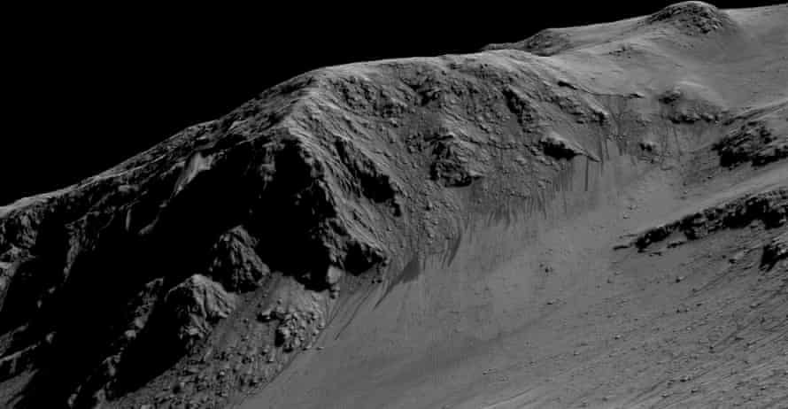 Nasa announced it has found evidence of flowing liquid water on Mars