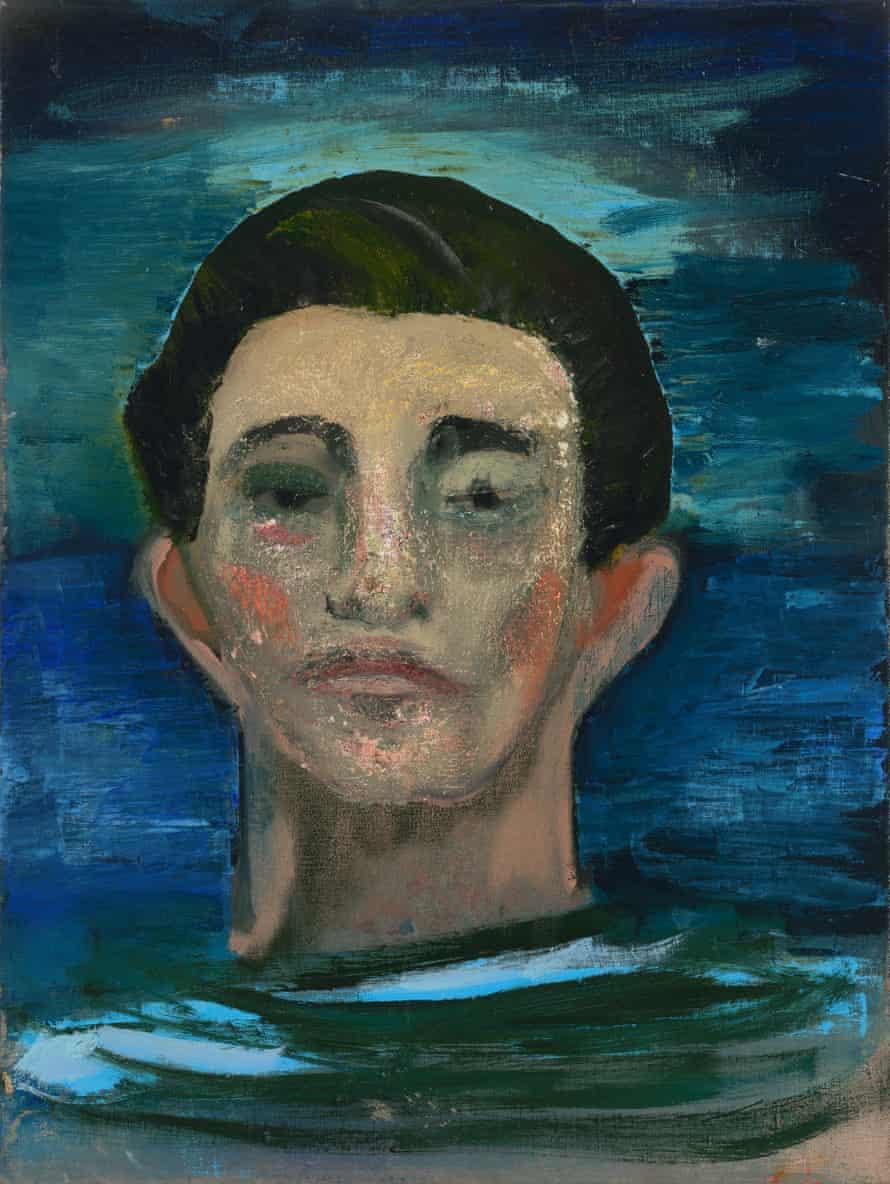 Untitled (Head of Man), 2017