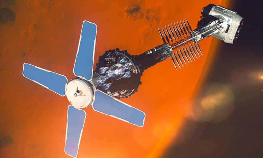 Rolls-Royce hopes its nuclear engines could take astronauts to Mars in three to four months.