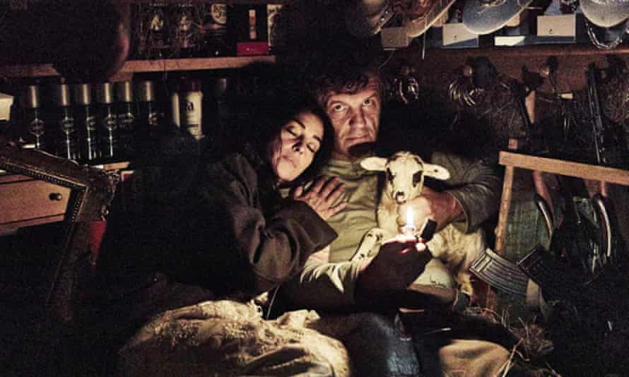 Wooly carnage … Emir Kusturica and Monica Bellucci in On the Milky Road.