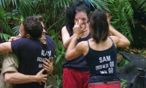 The 2017 I'm A Celebrity… love-in.