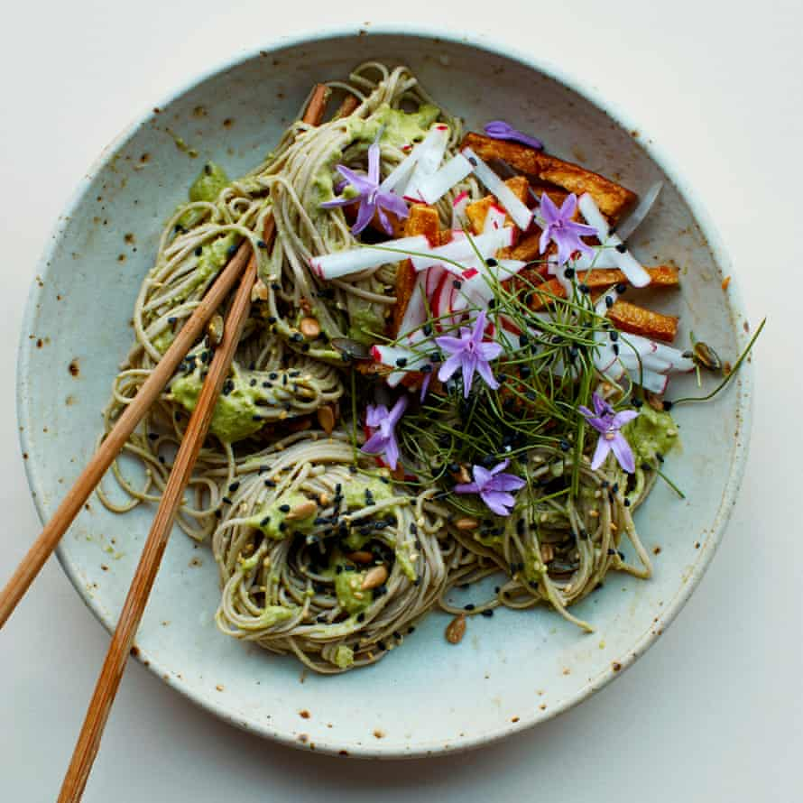 Lime and double ginger weeknight soba