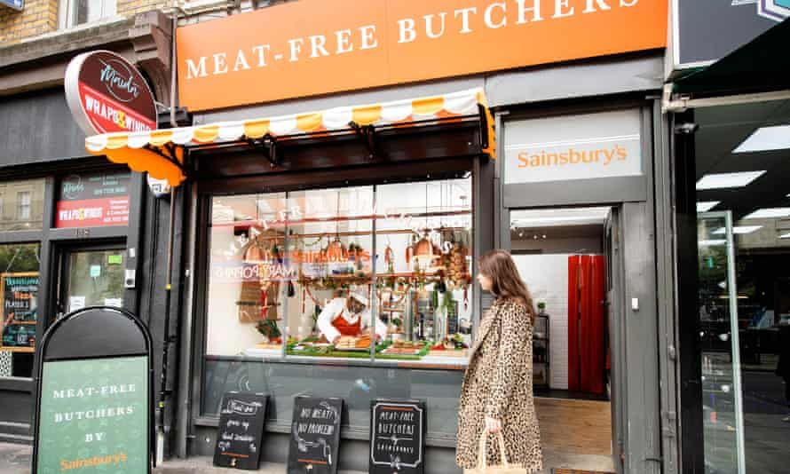 Sainsbury's meat-free butcher