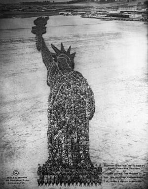 Mole's human Statue of Liberty.