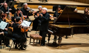 András Schiff conducts the Orchestra of the Age of Enlightenment at the Royal Festival Hall, London