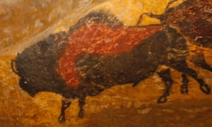 A new replica of the prehistoric paintings of the Lascaux cave, in Montignac.