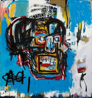 Basquiat's painting, Untitled, sold this year for $110.5m. Photograph: Sotheby's
