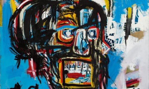 Jean Michel Basquiat Breaks Us Art Record With M Sale Art And Design The Guardian