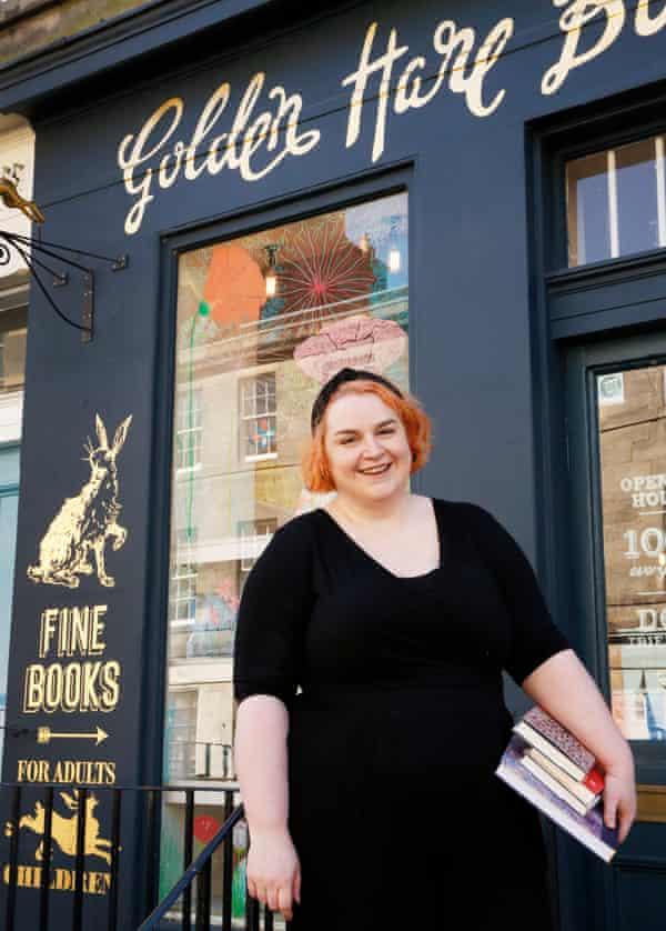 Julie Danskin Golden Hare Books Edinburgh.
