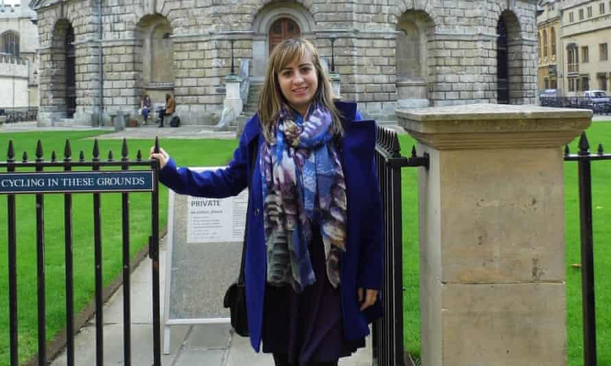 Emina Hadziosmanovic, who left Bosnia to come to the UK