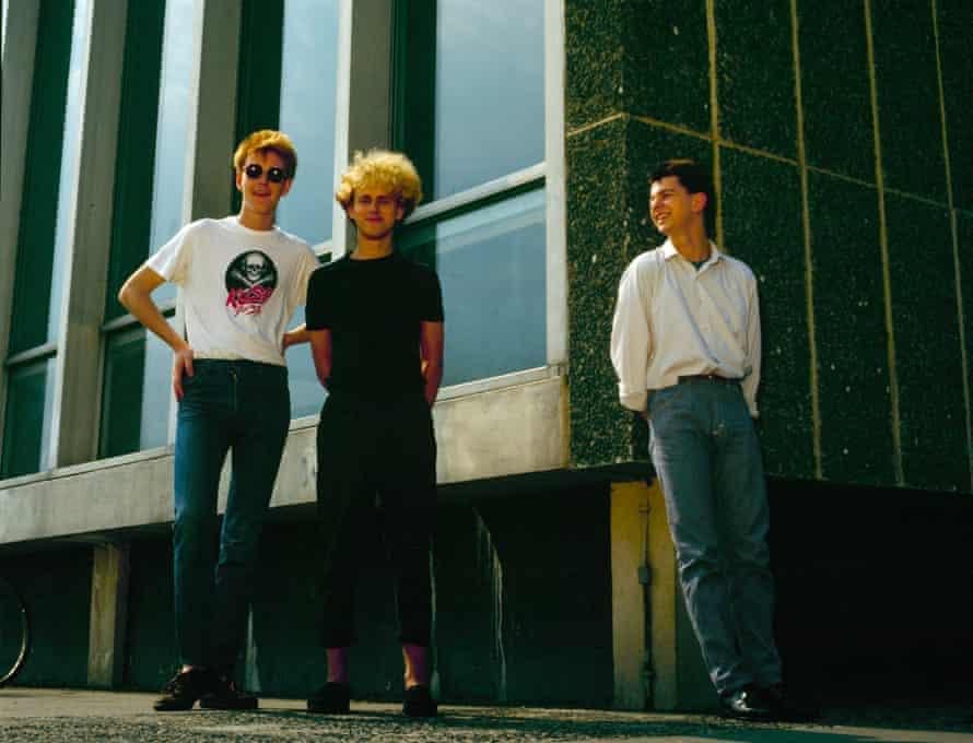 Depeche Mode in Basildon, Essex in 1980.
