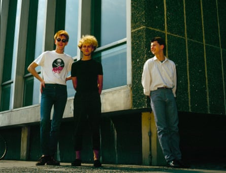 Depeche Mode in Basildon, Essex in 1980.