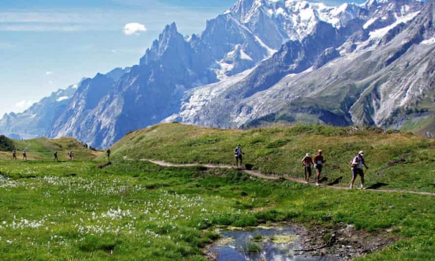 The Ultra Trail de Mont Blanc (UTMB).