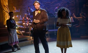 Hadestown, New York Theatre Workshop by Anaïs Mitchell. Developed with and directed by Rachel Chavkin Jessie Shelton, Chris Sullivan and Nabiyah Be.