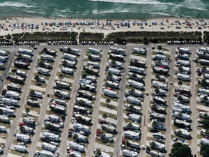 Parking lot near Myrtle beach