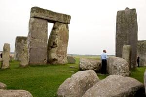 Obama at Stonehenge