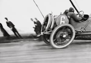 The French Grand Prix, Circuit de Dieppe, Normandy, 1912.