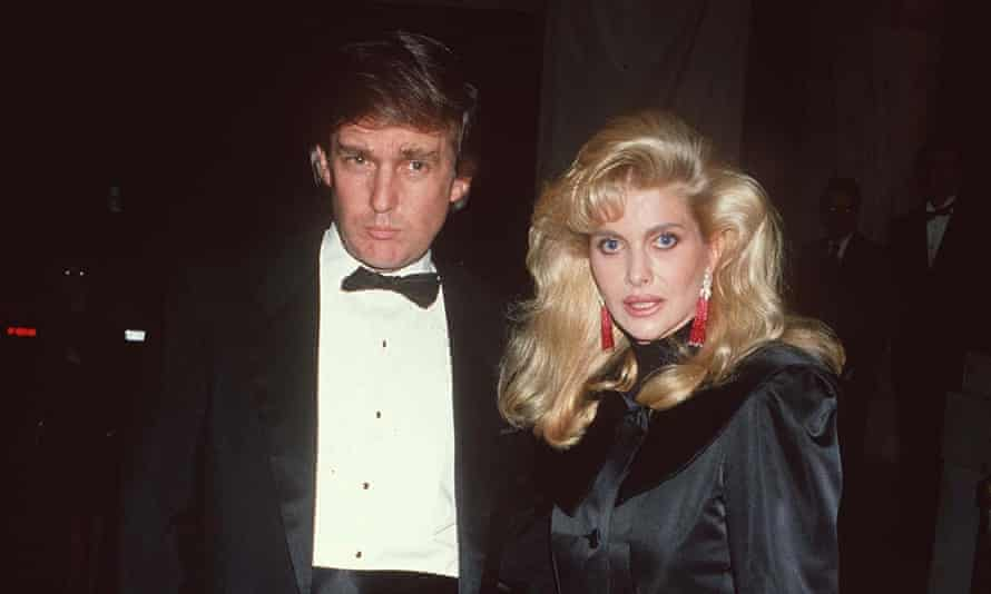 Donald and Ivana Trump in New York in 1989.