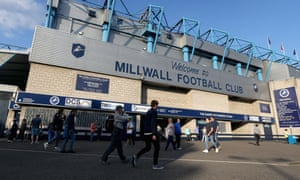 The Den, Millwall FC's stadium which is situated in the borough of Lewisham, south-east London.