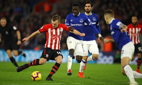 James Ward-Prowse hits stunning goal to steer Southampton past Everton