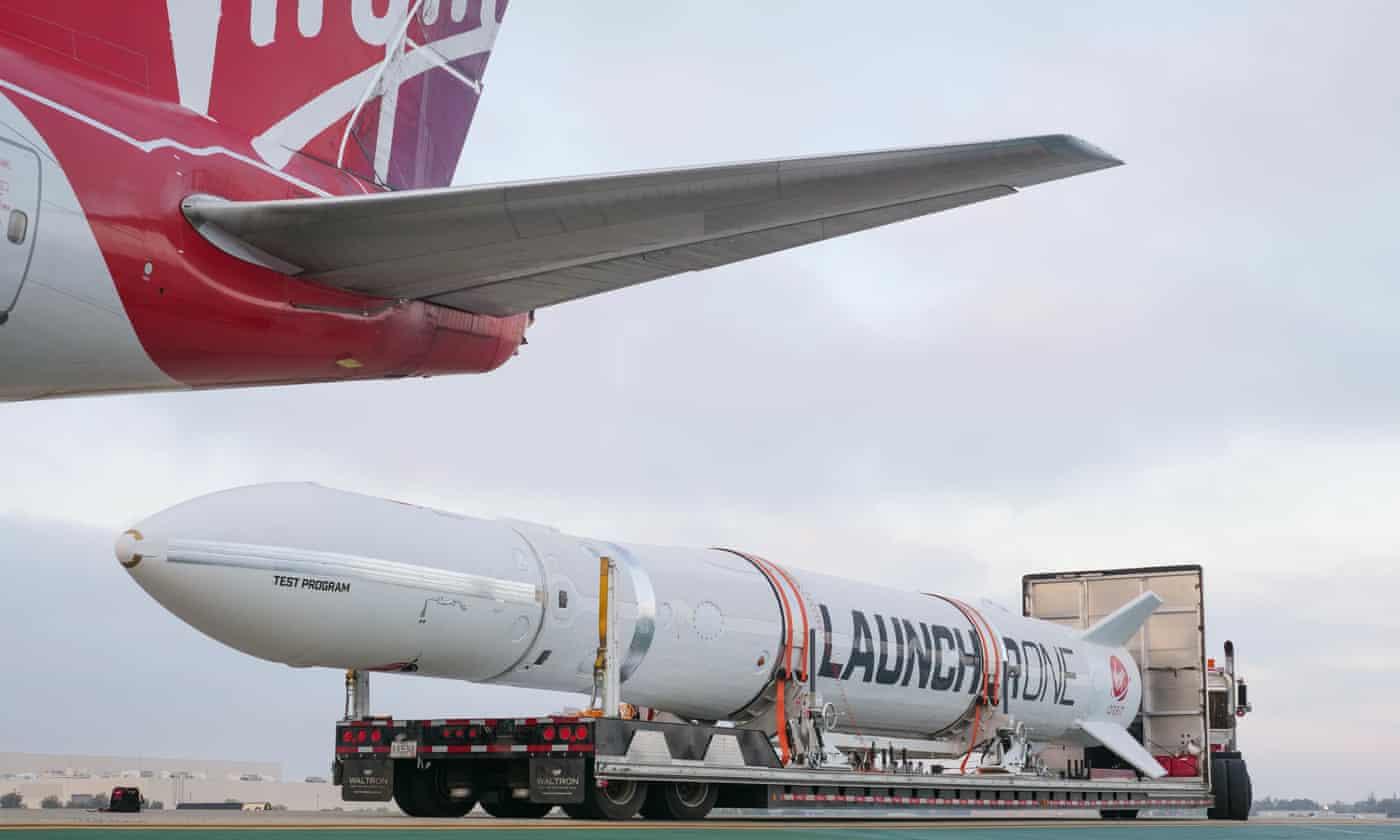 Richard Branson's Virgin Orbit postpones first space launch