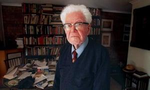 Australian scientist Sir Mark Oliphant.