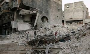 aleppo syria war