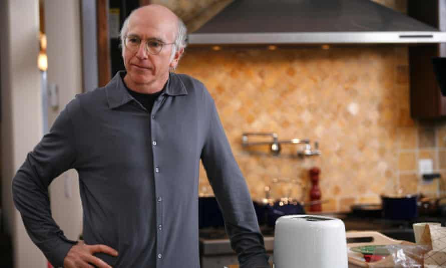 Larry David: always a pleasure to watch him conduct his symphony of human misery.