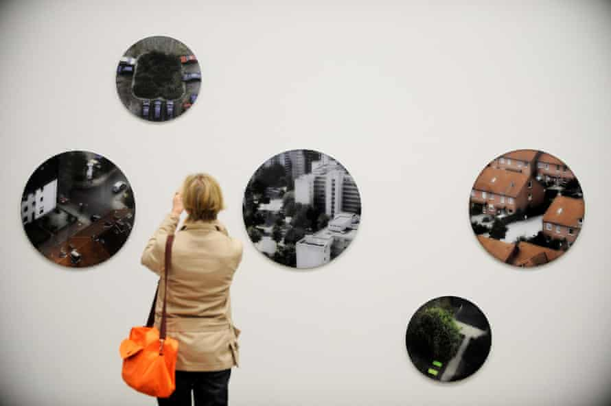 The 'flawless' Museum Folkwang in Essen, showing the work of Susanne Bruegger.