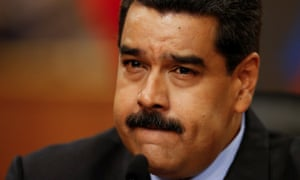 The Venezuelan president, Nicolás Maduro