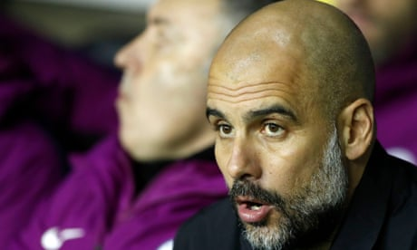 Pep Guardiola backs his Manchester City players despite Wigan FA Cup loss  – video