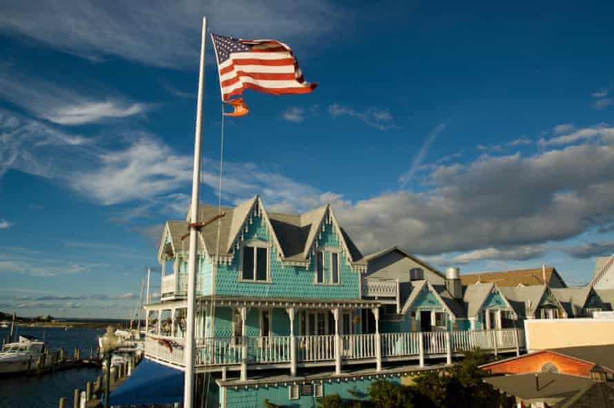 A patriotic house in Martha's Vineyard