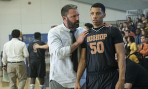 Ben Affleck and Brandon Wilson in The Way Back