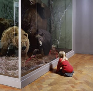 Stuffed with memories … Girl with Bears, Royal Museum of Scotland, 1999.